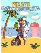pirate coloring book: Pirate Activity Book for Kids Ages 4-8 / coloring book Gift,50 Pages,8.5x11