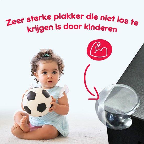Mibss 20 stuks- safety first hoekbeschermers transparant voor baby en kind