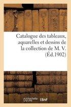 Catalogue des tableaux, aquarelles et dessins de la collection de M. V.