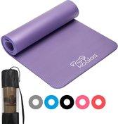 Koalas ® - Yogamat - Fitness Mat Paars - Anti Slip Yoga Mat - Extra Dik 1cm -...