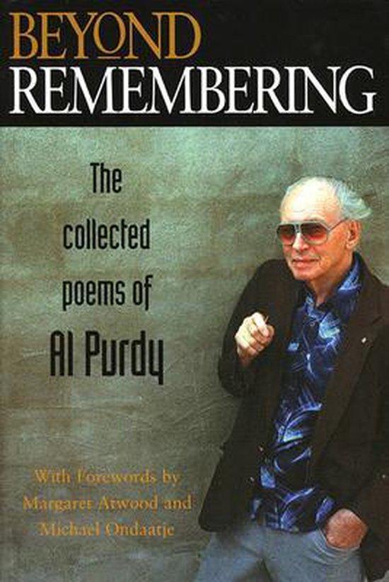 Boek cover Beyond Remembering van Al Purdy