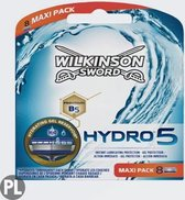 Wilkinson Sword Hydro 5 -8 stuks - Scheermesjes