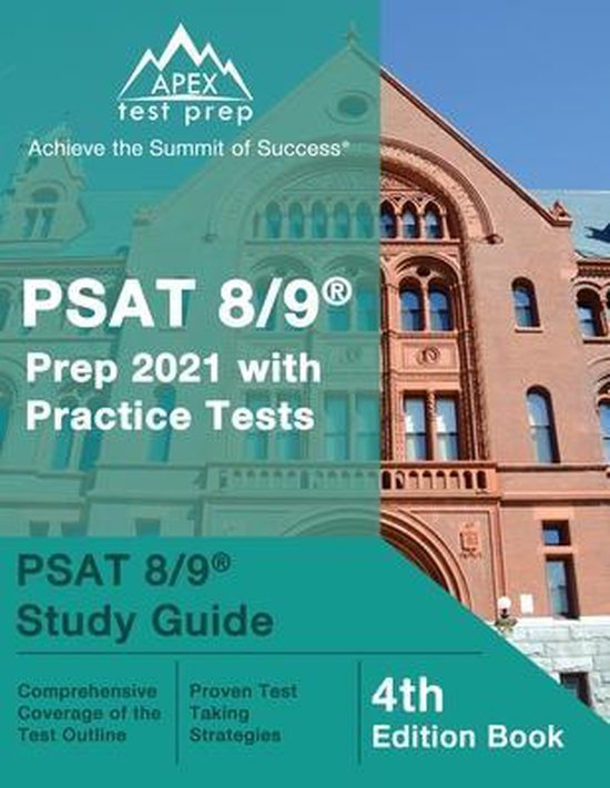 PSAT 8/9 Prep 2021 with Practice Tests