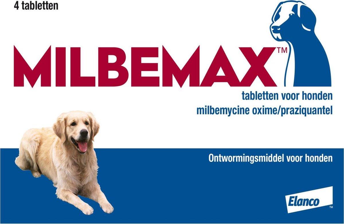 Elanco Milbemax Ontwormingsmiddel - Hond - 2x2 tabletten