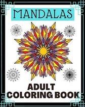 mandalas: adult coloring book