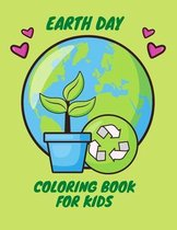 Earth Day Coloring Book for Kids