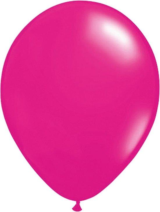 Magenta ballonnen 30cm 100 stuks