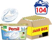 Persil 4in1 Discs Sensitive Wascapsules - Wasmiddel Capsules - Voordeelverpakking - 8 x 13 wasbeurten