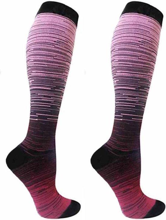 Compressiekousen | Hardlopen | Steunkousen Mannen Vrouwen | Sportsokken Heren Dames | Sokken | Hardloopsokken | Kousen | Kniekousen | Wandelsokken | Vliegtuig sokken | S/M