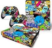 Sticker Bomb - Xbox One X skin