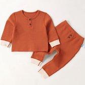 Baby set- tweedelig- babykleding - Baby & Kind - babykleding - babykleertjes - kledingsets - Rood