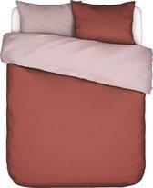 Covers&Co dekbedovertrek  Two in one rust - lits jumeaux (240x200/220 cm incl. 2 slopen)