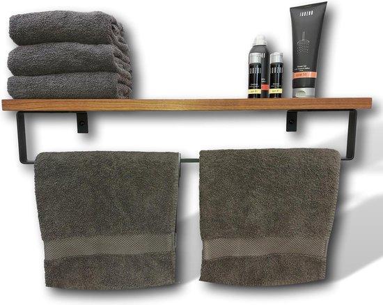 Handdoekenrek - Handdoekrek - Duurzaam verantwoord hout - Handdoekenhouder - badkamer