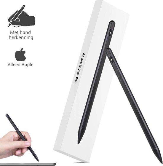 Stylus Pen - Alternatief Apple Pencil - Alleen voor Apple iPad - Active Stylus Pencil Nieuwste Generatie - Handdetectie - Zwart