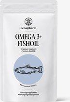 Sensipharm Omega 3 Visolie Voedingssupplement voor Weerstand en Imuunsysteem - Fishoil, Kinderen, Volwassenen - Natuurlijk - 60 Capsules