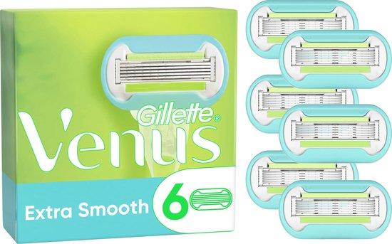 Gillette Venus Extra Smooth Scheermesjes Voor Vrouwen - 6 Navulmesjes