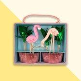 Meri Meri - Cupcake Kit Flamingo's