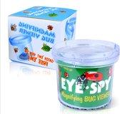 loeppotje - potje voor insecten met vergrootglas - insecten speelgoed - insectenpotje voor kinderen - buitenspeelgoed - Blijderij