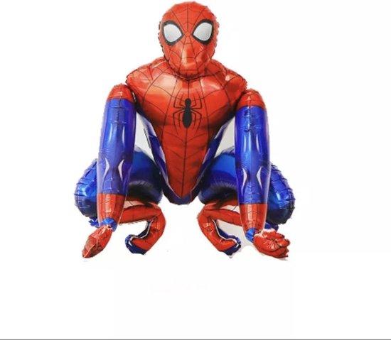Spiderman XL Ballon 3D Folieballon - Kinderfeest - Kinderverjaardag - Feest - Grote Ballonnen - Inclusief opblaasrietje