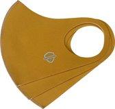 SafeSave mondkapjes-niet medische mondmasker-wasbare en herbruikbare neopreen stoffen mondkapje met leuke print/design-unisex mondkap-3 stuks- marigold