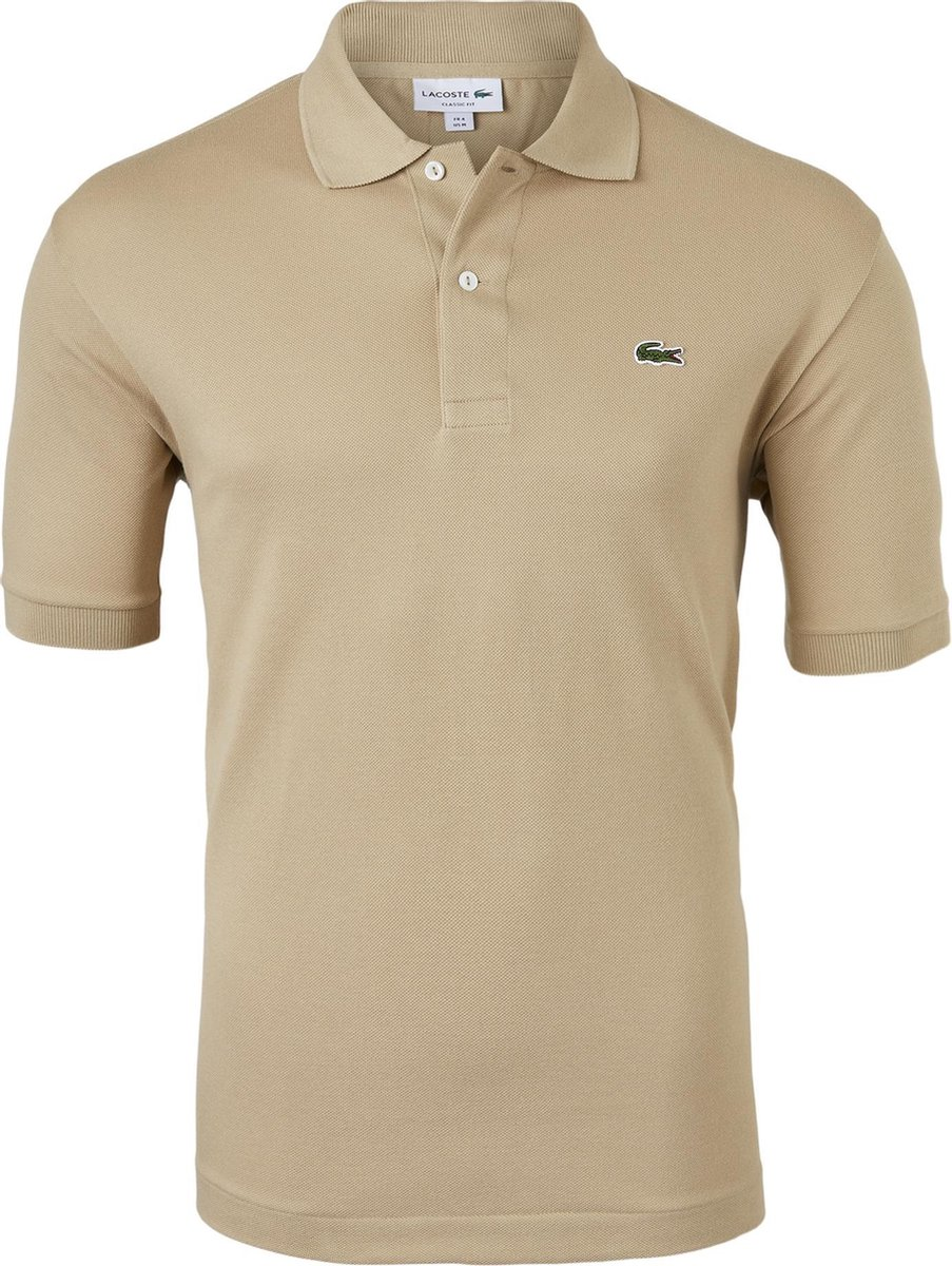 Lacoste Classic Fit polo - beige -  Maat: 3XL