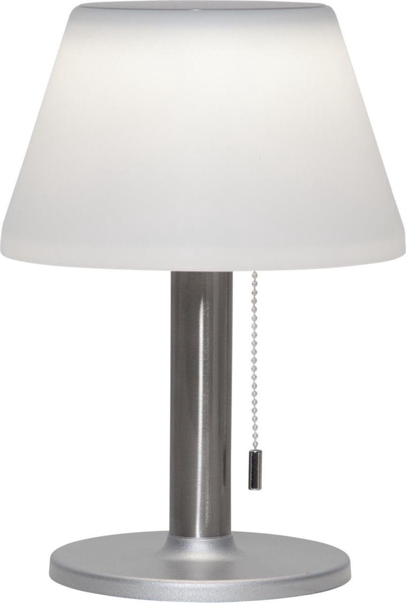 Kynast SOLAR LED Tuin Tafellamp warm wit licht met dimmer voor buiten met zonne energie