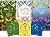 Pukka Collections Thee - 3 x 20 zakjes - Bundel