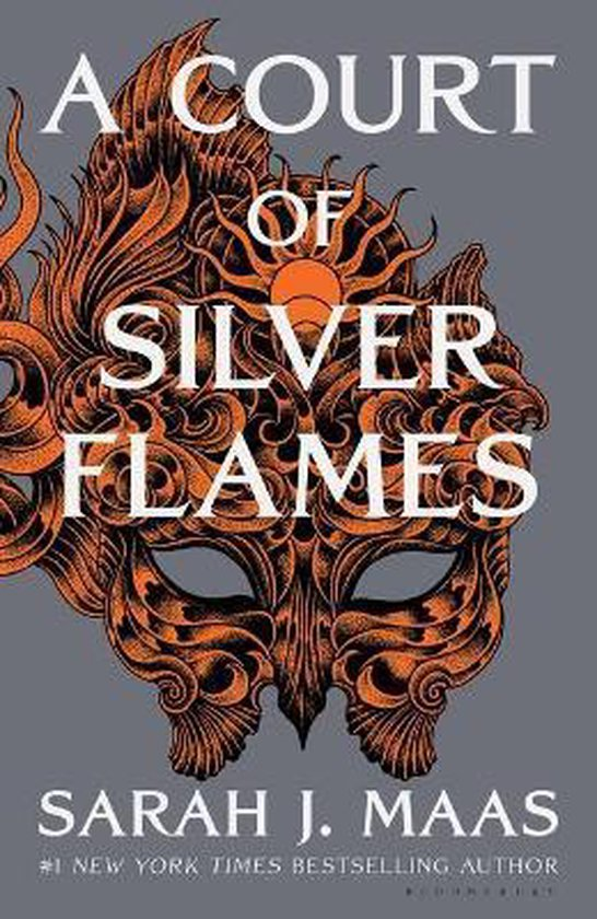 Boek cover A Court of Silver Flames van Sarah J. Maas (Hardcover)