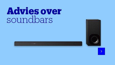 Advies over soundbars