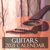 Guitars 2021 Calendar