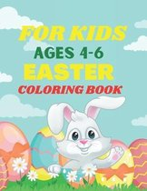 For Kids Ages 4-6 Easter Coloring Book