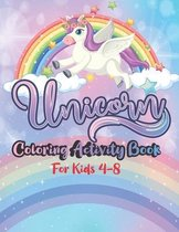 Unicorn Coloring Activity Book