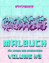 Graffiti Malbuch Für Kinder und Erwachsene: Die Kunst der Strasse Streetart Ausmalbuch für Kinder, Jungen und Mädchen