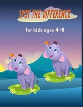 Spot the difference for kids ages 4-6