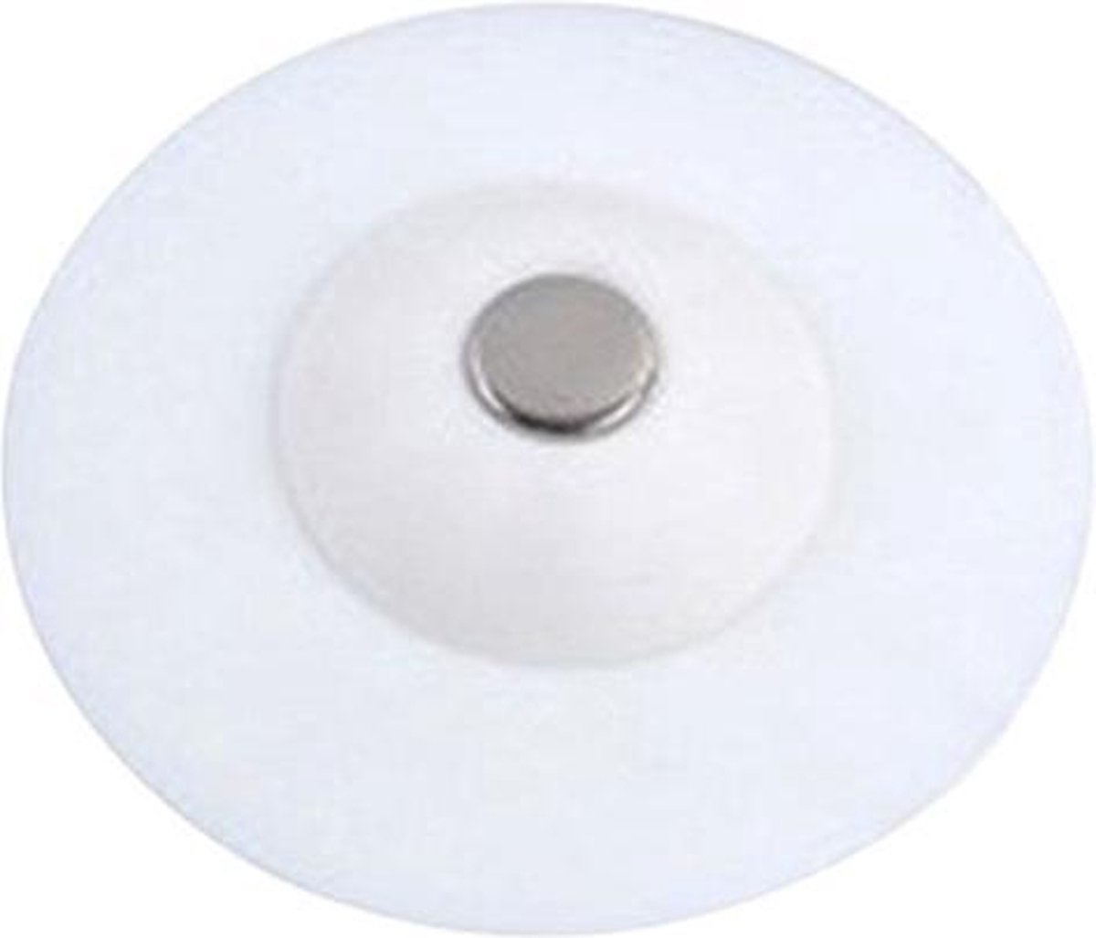 Afvoerstop - Gootsteen zeef - Wit - Wasbak UFO - Water stopper - Haar vanger - Badkamer Plug - Siliconen stop - Thermo Plastic Rubber