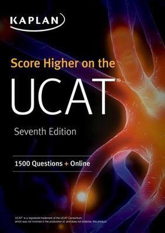 Boek cover Score Higher on the UCAT van Kaplan Test Prep (Paperback)