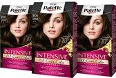 Poly Palette 800 Donkerbruin Haarverf 3x - Voordeelverpakking