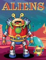 Aliens Coloring Books Childrens