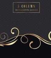 5 Column Bookkeeping Ledger