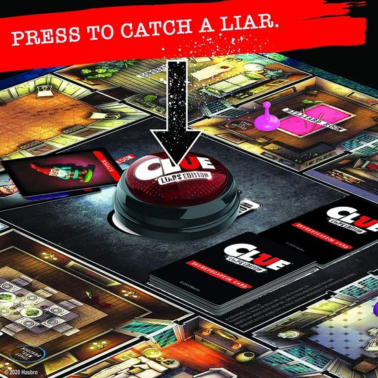 Thumbnail van een extra afbeelding van het spel Cluedo - Liars Edition - Engelse Versie