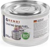 10x Blikje Hendi professionele brandpasta - 200 gram per blik - o.a. voor chafing dishes