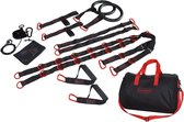 Tunturi Crossfit Trainer - Crossfit gear - Crossfit set - Crossfit Suspension - Zwart