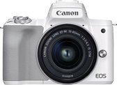 Canon EOS M50 Mark II + M15-45mm S - Wit