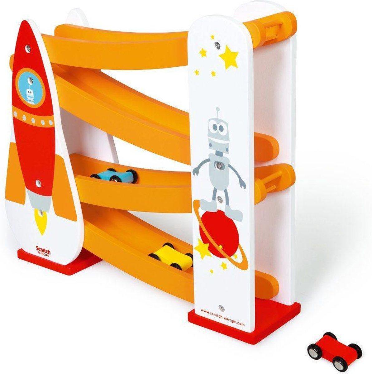Scratch Preschool ROLLING SLOPE- RAKET