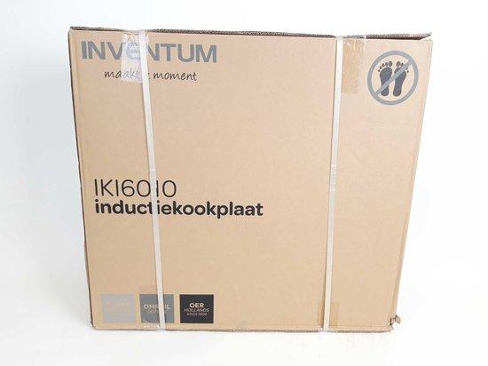 Inventum IKI6010 - Inductie kookplaat - 1 fase