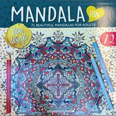 Mandala kleurboek 72 kleurplaten - mandala voor volwassenen - Mandala fun - Creatief