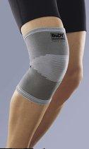 Easy in Shape Knie Ondersteuningsband - Elastische Knieband S/M – Grijs