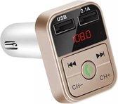Transmitter - Bluetooth - FM - Carkit - Handsfree bellen - Muziek beluisteren...