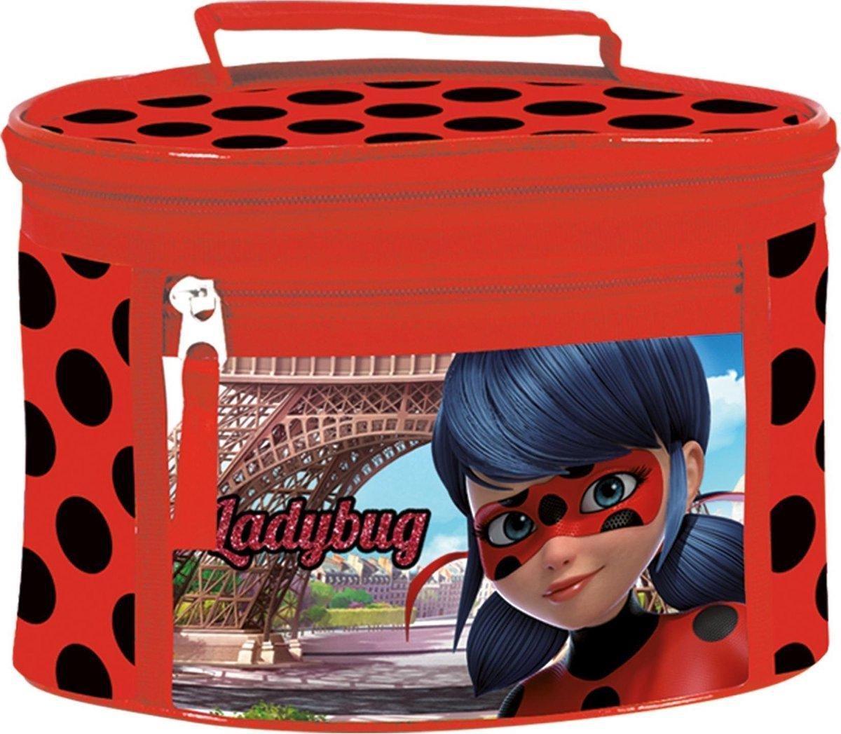 Miraculous Ladybug toilettas / beautycase groot model - Goede kwaliteit.
