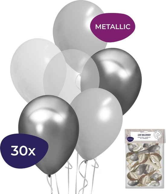 Bruiloft Decoratie - Bruiloft Versiering - Helium Ballonnen - Sweet 16 Versiering - 30 stuks